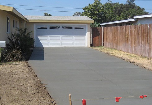 Concrete Driveways & Landscaping